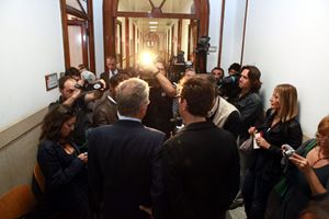 A Milano il primo giorno d'apertura dell'Ufficio delle Unioni civili.