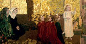 Nazareth di Maurice Denis, (1870-1943). Vaticano, Collezione d'arte religiosa moderna