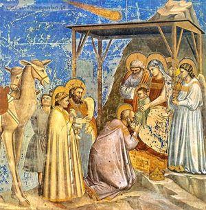 Natività, iconografia Giottocappelladegliscrovegniadorazionedeimagi_891402