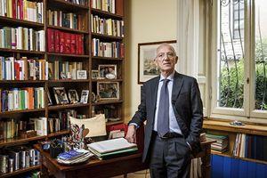Lo storico Mario Taccolini, Foto di Fabrizio Annibali.