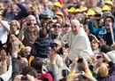 San Giuseppe, le immagini dell'udienza del Papa