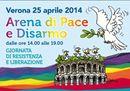 """25 aprile, Arena di Verona: """"In piedi costruttori di Pace"""""""