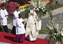 Papa,  la Messa di Pasqua a San Pietro