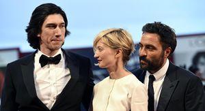 Adam Driver, Alba Rohrwacher e il regista Saverio Costanzo