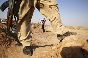 Miliziani dell'Isis in Iraq (Reuters).
