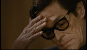 Willem Dafoe è uno strepistoso Pasolini nel film di Abel Ferrara.