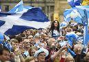 Scozia al voto per l'indipendenza