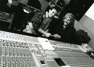 Con Massimo Troisi nel 1991