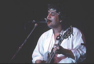 Pino Daniele negli anni '80