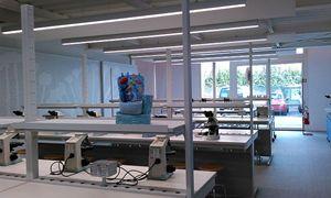Il laboratorio dell'Opificio.