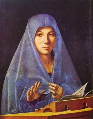 Antonello da Messina, L'Annunciata