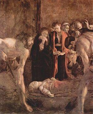 Caravaggio, Seppellimento di Santa Lucia
