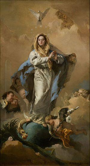 Giovanni Tiepolo, Immacolata Concezione