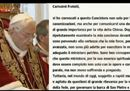 Benedetto XVI si dimette: in latino