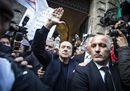 Berlusconi: oggi è una bella giornata per la giustizia