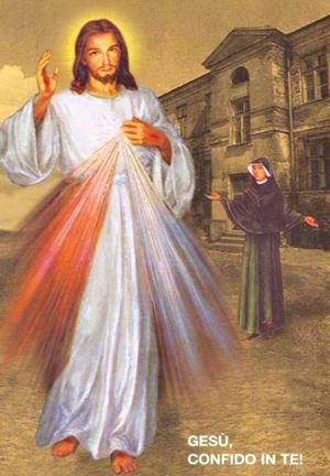 L'icona di Gesù misericordioso
