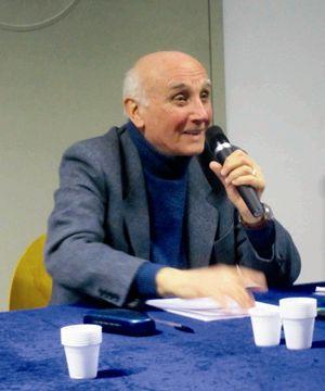 Giovanni Bianchi, presidente dell'Associazione nazionale partigiani cristiani.