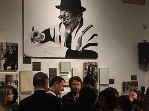 Il ministro Franceschini all'inaugurazione della mostra al Museo Ebraico di Roma