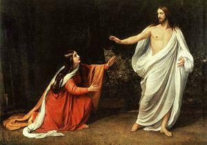 Alexander Ivanov (1835): Gesù risorto e Maria Maddalena