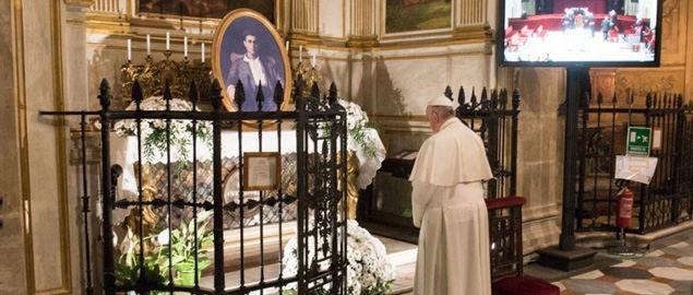 Résultats de recherche d'images pour «papa francesco e pier giorgio frassati»