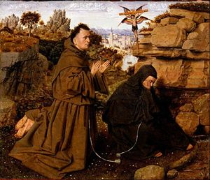 Stigmate di san Francesco (attribuito a Jan van Eyck)