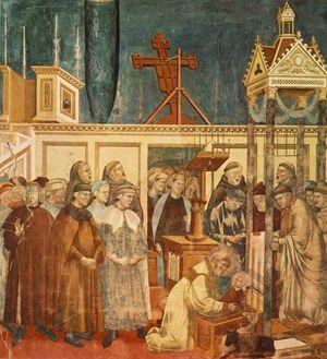 Giotto, Il Presepe di Greccio, Basilica Superiore di Assisi
