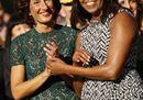 Agnese Renzi e l'incontro con Michelle Obama