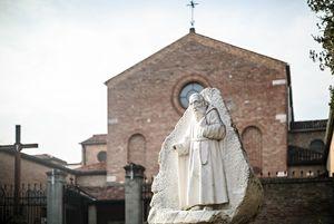 Il convento dei cappuccini di Padova, che è anche santuario di San Leopoldo.