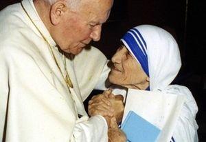 Madre Teresa fu beatificata da Giovanni Paolo II nel 2003