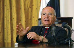 Monsignor Shlemon Warduni, vescovo ausiliare di Baghdad dei Caldei. Foto Reuters.
