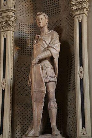 Donatello, San Giorgio, ca. 1416-17, Museo del Bargello, Firenze