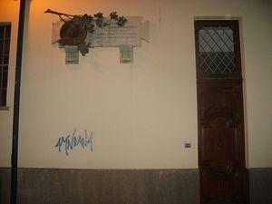 La casa del fratello Luigi a Chieri, nell'omonima via Cottolengo, dove il Santo morì nel 1842