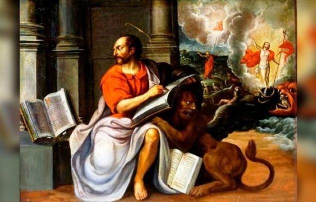 Risultati immagini per SAN MARCO L'EVANGELISTA