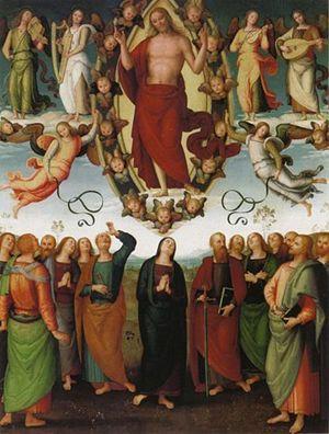 Pietro Perugino, Ascensione di Cristo