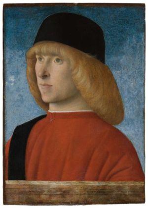 """""""Ritratto di giovane senatore"""", esposto ai Musei Civici agli Eremitani di Padova."""