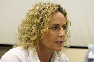 Alessandra Sensini, testimonial della campagna, campionessa olimpica di vela e windsurf.