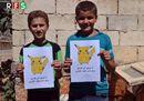 L'appello dei bimbi siriani: «Salvate noi non i Pokémon»