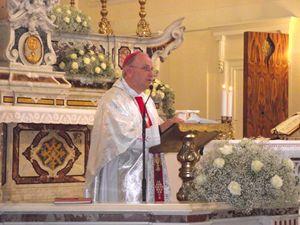 Mons. Vito Angiuli, vescovo della diocesi di Ugento-Santa Maria di Leuca, nel Salento