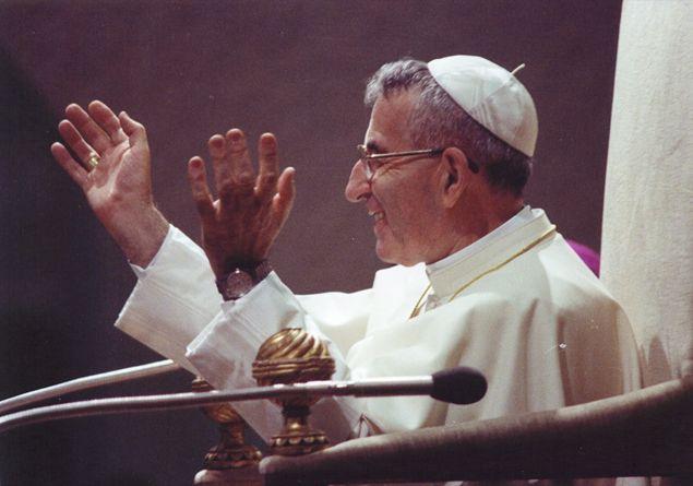 Papa Luciani, «lo sposo della povertà»