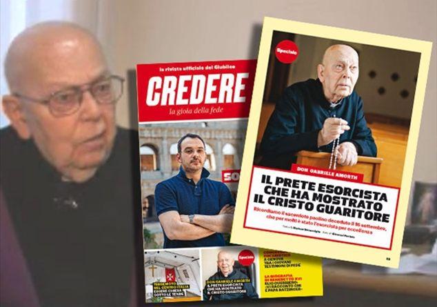 Don Gabriele Amorth: il prete esorcista che ha mostrato il Cristo guaritore