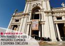 Papa Francesco ad Assisi: preghiera ecumenica e cerimonia conclusiva