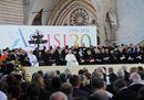 Il Papa ad Assisi: le immagini più belle dell'incontro di preghiera per la pace