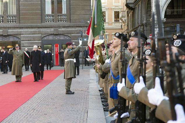Festa del Tricolore, la cerimonia al teatro Valli