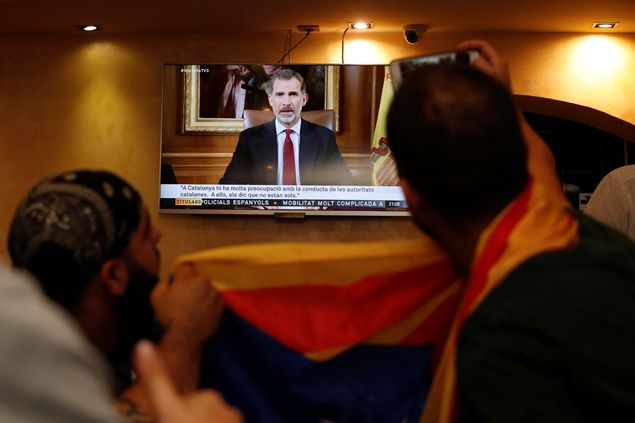 Il Re sulla Catalogna: