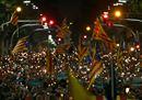 Barcellona in piazza per la libertà dei leader secessionisti