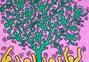 Keith Haring e le sue fonti di ispirazione, le immagini della mostra di Milano