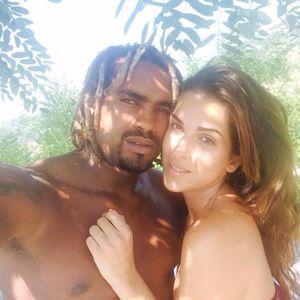 Gessica con l'allora fidanzato Jorge Edson Tavares