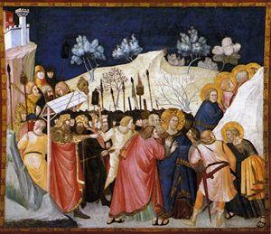 La cattura di Cristo di Pietro Lorenzetti.
