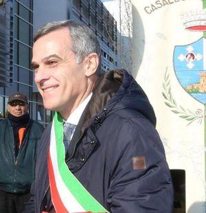 Il sindaco di Casalecchio, Massimo Bosso (foto Ansa)
