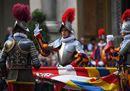 Storia, colori, emozioni: 40 nuove Guardie svizzere